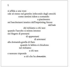 Sonia Caporossi voce poesia cctm a noi piace leggere