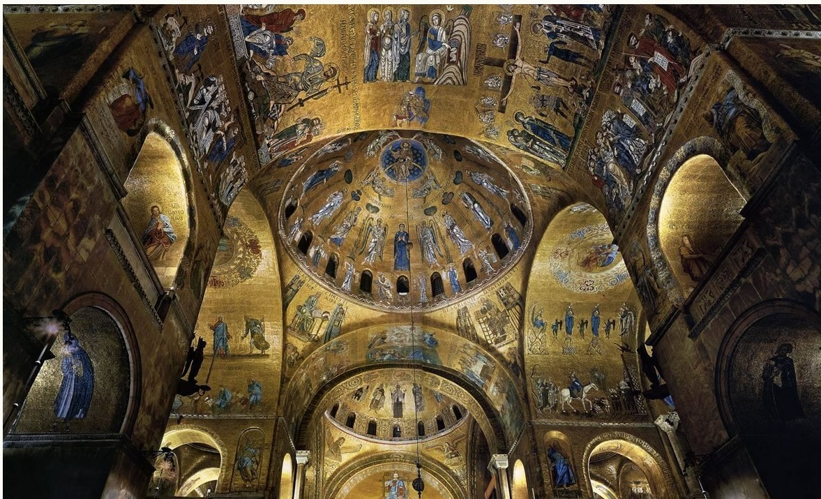 mosaici basilica di san marco venezia cctm a noi piace leggere