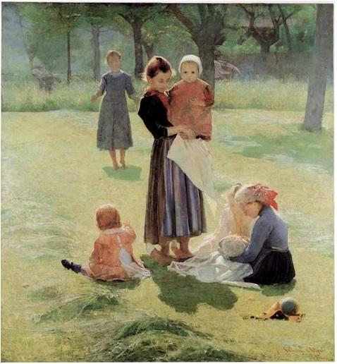 pellizza da volpedo Mammine cctm arte a noi piace leggere