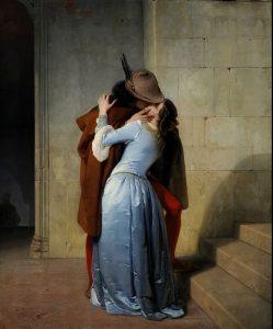 francesco Hayez il bacio pinacoteca brera cctm arte a noi piace leggere