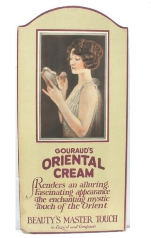 belle da morire - il mercurio Gouraud's Oriental Cream cctm a noi piace leggere