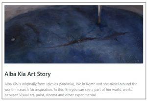 Alba Kia Art Story cctm video arte a noi piace leggere giuseppe sciarra