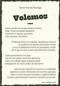 aaron parodi quiroga poesia colombia cctm a noi piace leggere voliamo