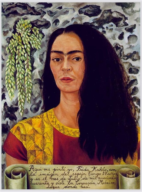 frida kahlo autoritratto pittura donne mexico cctm a noi piace leggere