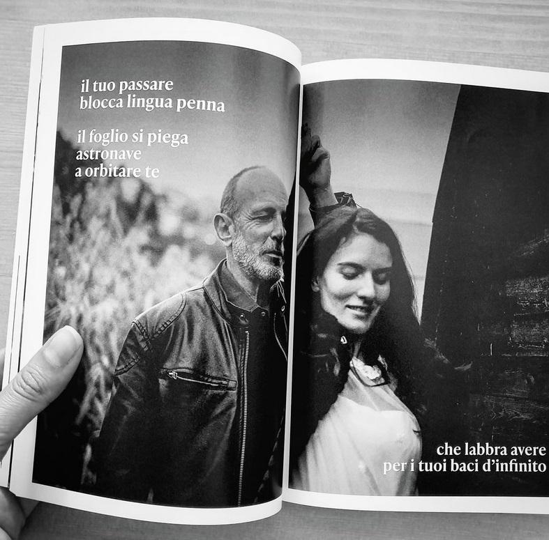 Diario amoroso senza date Fotoromanzo poetico Eleonora Buselli Antonio Nazzaro cctm