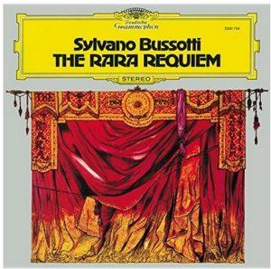 Sylvano Bussotti, Rara-Requiem, musica cctm a noi piace leggere italia